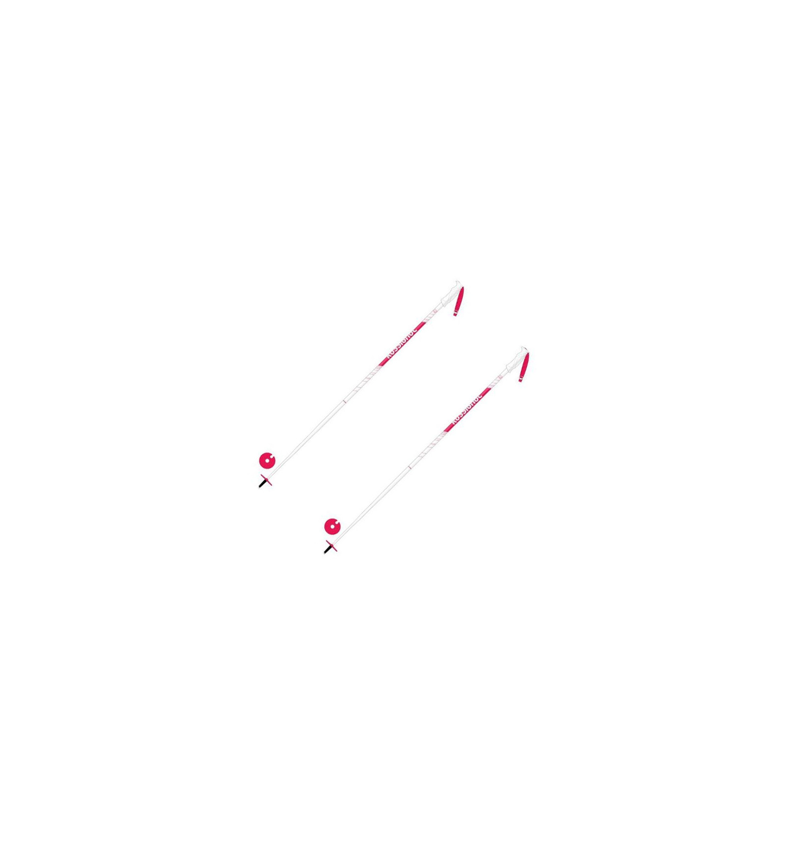 Rossignol B/âtons De Ski Electra Light White//Pink