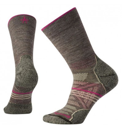 Chaussettes Smartwool Phd Outdoor Light Crew (Taupe) femme