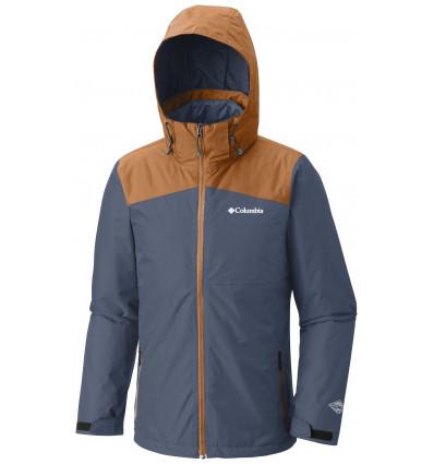 Columbia Aravis Explorer Interchange Jacket (Dark Mountain