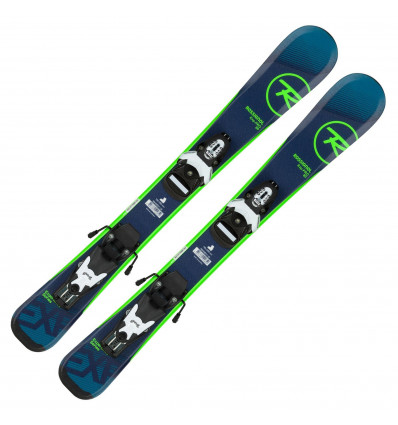 Pack skis + fixation Rossignol Experience Pro (team4) enfant