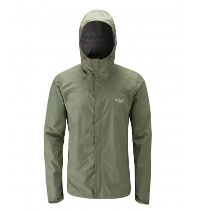 Rab Downpour Jacket (Field Green)