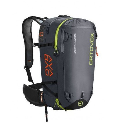 Sac Avalanche Airbag ORTOVOX Ascent 40 Avabag sans Avabag-Unit (black anthracite)