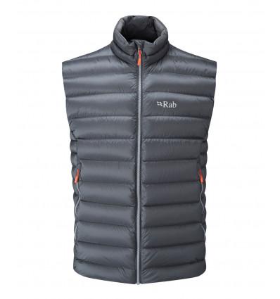 Doudoune sans manches Rab Electron Vest (Graphene/ Zinc)