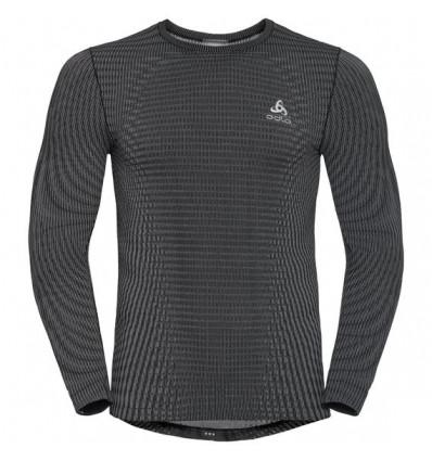 T-shirt Suw Top Crew Neck L/s Odlo Futureskin Odlo (black - White)