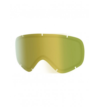 Ecran masque de ski Anon Helix2.0 Sonar Lens Sonar Gold