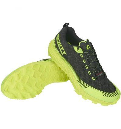 Chaussures trail SCOTT Supertrac Ultra RC (Black/Yellow)