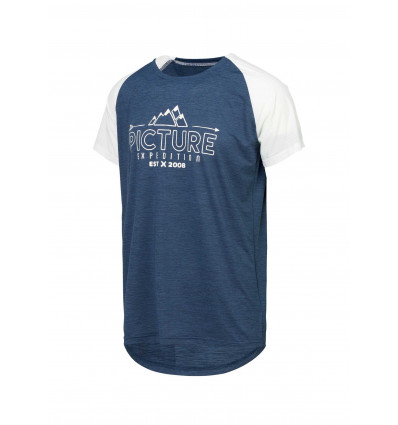 T-shirt manches courtes Oddisee Tech SS Tee Picture (B Dark Blue)