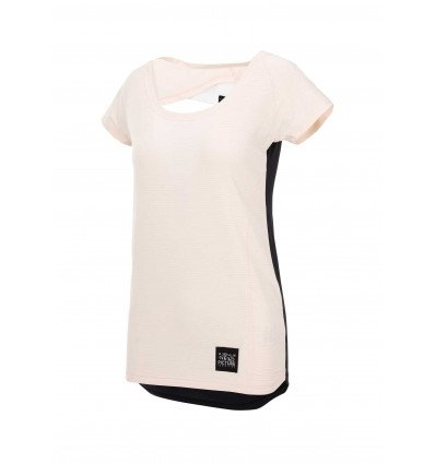 T-shirt manches courtes Milli Tech SS Tee Picture (A sand) femme