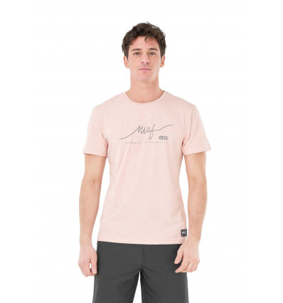 T-shirt manches courtes Signature Tee Picture (B Pink)