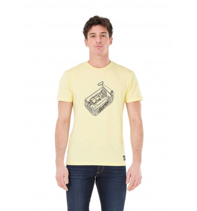 T-shirt manches courtes Tricana Tee Picture (A Yellow)