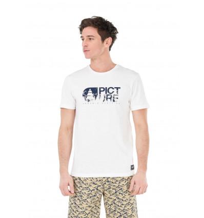T-shirt manches courtes Basement Aravis Tee Picture (A white)