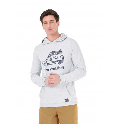 Sweat Travel Hoodie Picture (A Light Grey)