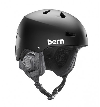 Casque de ski Macon Black Bern