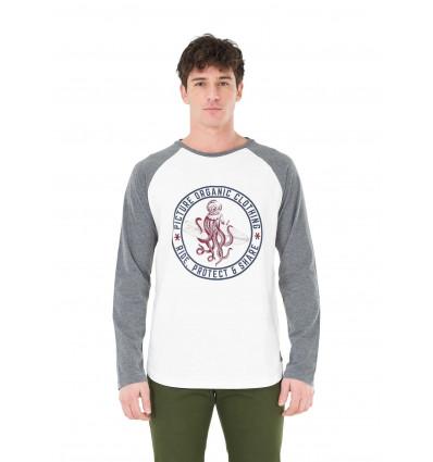 T-shirt manches longues Scuba LS Picture (B White)