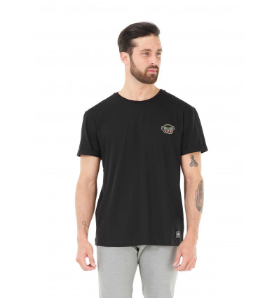T-shirt manches courtes Fast Food Picture (A Black)