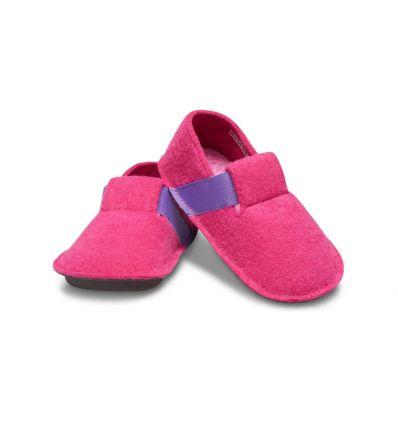 Crocs Kids Classic Slipper (Candy pink