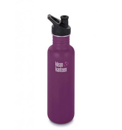 Bouteille 27 oz Classic sport Cap 800 ml Klean Kanteen® (winterplum)