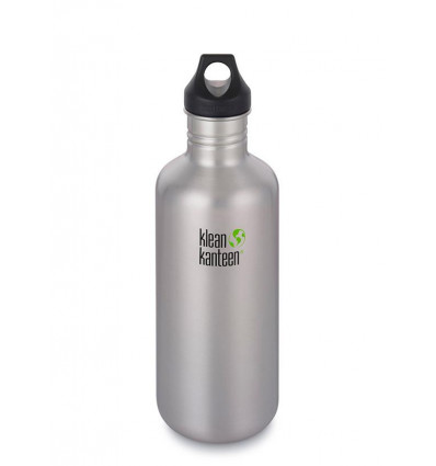 Bouteille 40 oz Classic Loop Cap 1.182 ml Klean Kanteen® (brushed stainless)