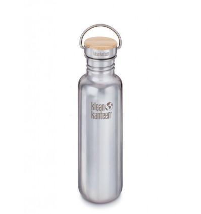 Bouteille 27 oz Reflect Bamboo Cap 800 ml Klean Kanteen® (mirrored stainless)