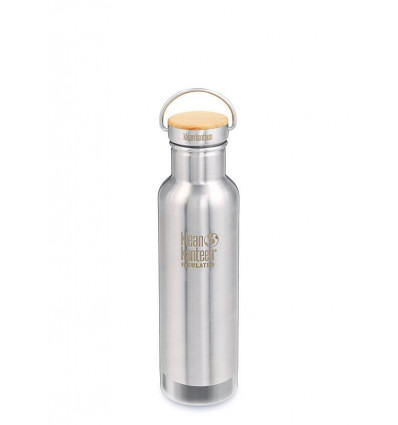 Bouteille 20 oz Reflect Insulated Bamboo Cap 532 ml Klean Kanteen® (brushed stainless)