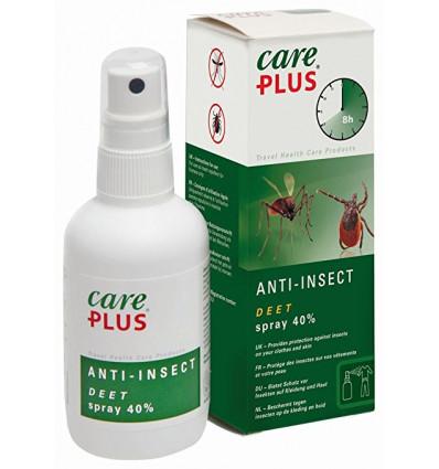 CAREPLUS Spray anti-insectes Deet 40% (60ml)