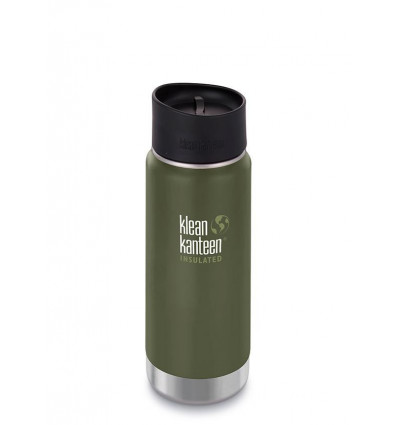 Tasse 16 oz Wide Insulated Café Cap 473ml Klean Kanteen® (fresh pine mat)