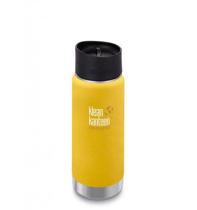 Tasse 16 oz Wide Insulated Café Cap 473ml Klean Kanteen® (lemon curry mat)