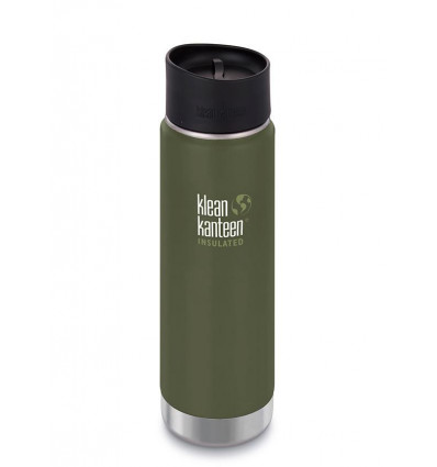 Tasse 20 oz Wide Vacuum Insulated Café Cap 592ml Klean Kanteen® (fresh pine mat)