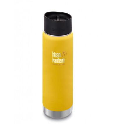 Tasse 20 oz Wide Vacuum Insulated Café Cap 592ml Klean Kanteen® (lemon curry mat)