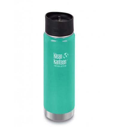 Tasse 20 oz Wide Vacuum Insulated Café Cap 592ml Klean Kanteen® (sea crest )