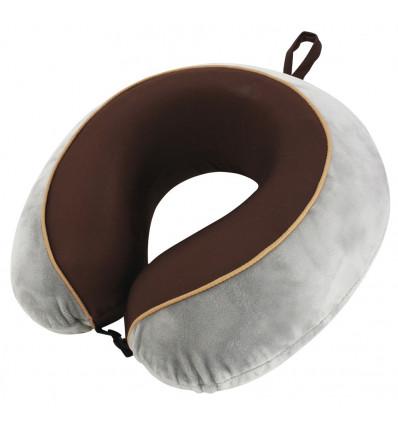 Coussin de voyage TravelSafe pillow memory foam de luxe TravelSafe (Grey/brown)