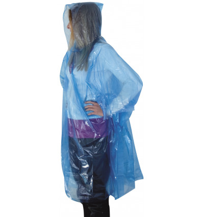 TravelSafe Poncho light (bleu)