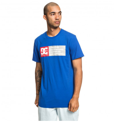 T-shirt Vertical Zone Ss 2 DC Shoes (Nautical Blue)
