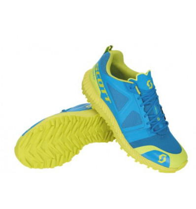 Chaussure trail Kinabalu - Scott (blue/yellow)