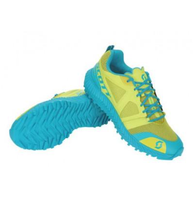 Chaussures de trail running SCOTT Kinabalu (yellow/blue) femme