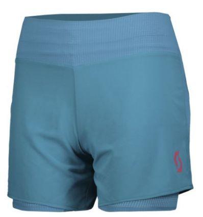 Short SCOTT Kinabalu Light Run (celestial blue) femme