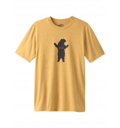 T-shirt Bear Hug SS prAna (Marigold Heather)