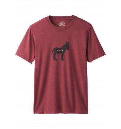 T-shirt Wise Ass Journeyman prAna (Rusted Roof Heather)