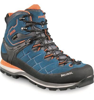 Hiking shoe Meindl Litepeak GTX (Blue orange) - Man