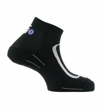 Chaussette Run Lighty Thyo (Noir/gris)