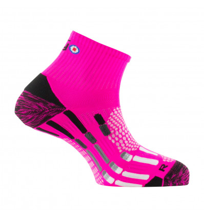Chaussette Pody Air Run Thyo (Rose fluo)