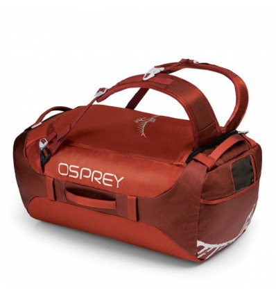 Sac de voyage Osprey Transporter 65 (Ruffian Red)