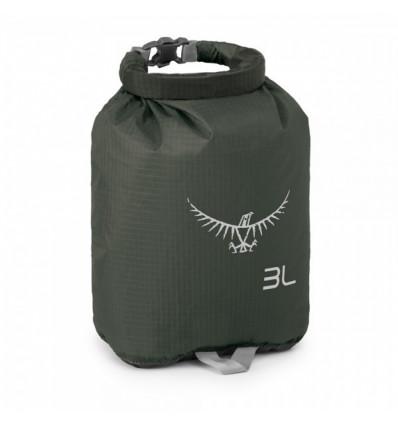 Sac étanche de rangement Osprey Ultralight DrySack 3 (Shadow Grey)