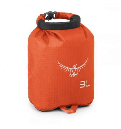 Sac étanche de rangement Osprey Ultralight DrySack 3 (Poppy Orange)