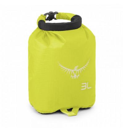 Sac étanche de rangement Osprey Ultralight DrySack 3 (Electric Lime)