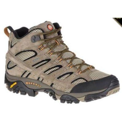 Chaussures de randonnée Merrell Moab 2 Ltr Mid Goretex (Pecan) homme