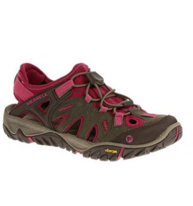 Chaussures All Out Blaze Sieve (Boulder/fuchsia) Merrell femme