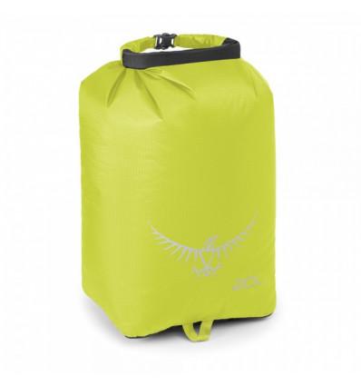Sac de rangement étanche Osprey Ultralight DrySack 20 (Electric Lime)