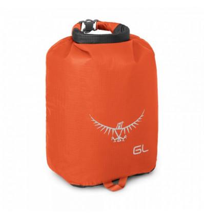 Sac de rangement étanche Osprey Ultralight DrySack 6L (Poppy Orange)