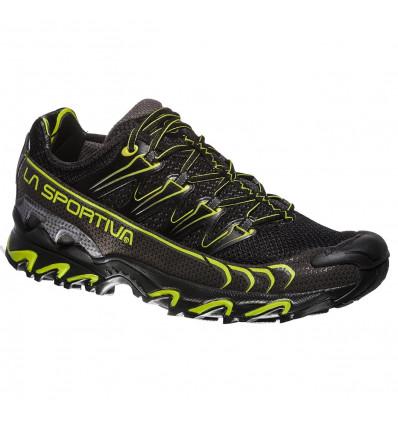Chaussures de trail La Sportiva Ultra Raptor (Black/apple green) homme